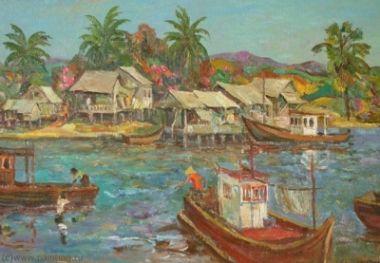 Рыбацкая деревня. Таиланд. Патая
