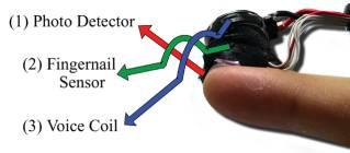 вибродатчик на ногте