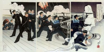 triptych on the Russo-Japanese war