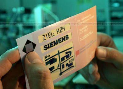 siemens printable display
